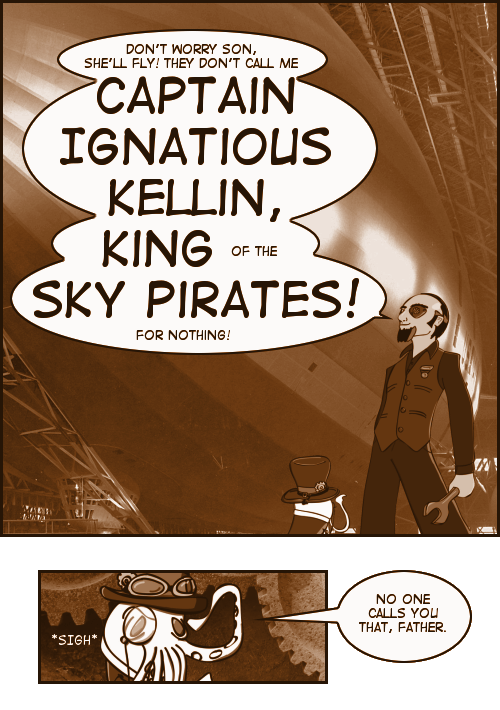 Chronicles of Crosarth: Captain Ignatious Kellin